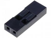 Dupont Gehäuse 1x2 Pin