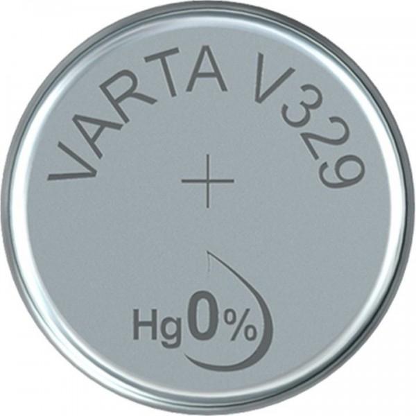 VARTA Silberoxid Uhrenbatterie V329