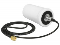 WLAN Antenne RP-SMA 802.11 ac/a/h/b/g/n 2 dBi omnidirektional weiß Outdoor