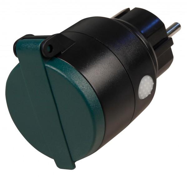 McPower Comfort, Funk-Steckdose für innen und Außen, 3000W, max. 150m, IP44