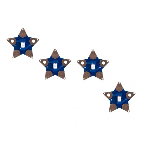 teknikio Sewable Star LEDs 4er-Pack