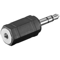Klinken Adapter 2,5mm Stereo Klinkenkupplung - 3,5mm Stereo Klinkenstecker
