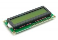 LCD 16x2 grün / gelb