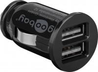 Dual USB-Autoladegerät 3,1A schwarz
