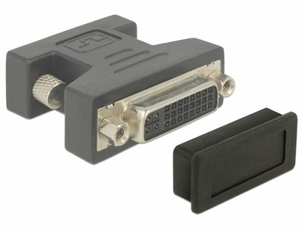Staubschutz für DVI Buchse 10 Stück schwarz