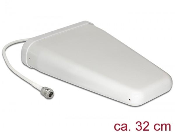 LTE Antenne N Buchse 8 - 10,5 dBi 0,32 m RG-58 direktional weiß outdoor