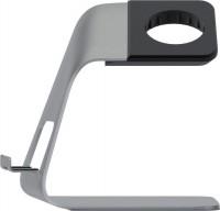 Dock Base - Halter für Apple Watch und Smartphone, silber