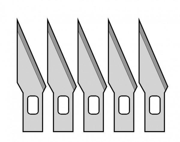 Ersatzklingen Nr.1 für MS01/MS13/MS15, 5 Stück