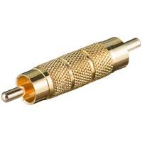Cinch Adapter Cinchstecker - Cinchstecker vergoldet