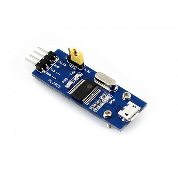 Konverter, micro USB Buchse - UART, PL2303