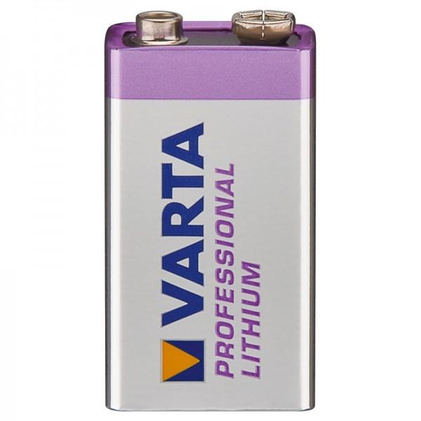 VARTA Professional Batterie Lithium 9V-Block