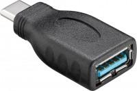 USB-C 3.0 Adapter, C Stecker - A Buchse, schwarz