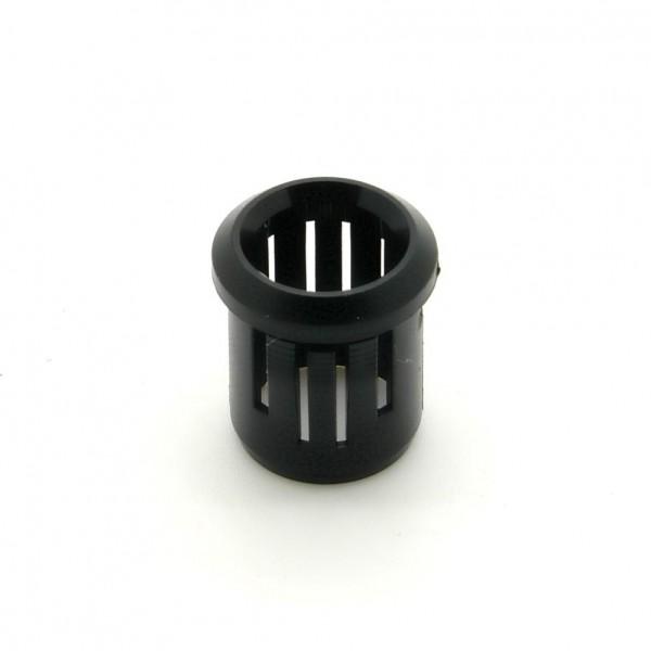 Clip für 10mm LED, einteilig, schwarz