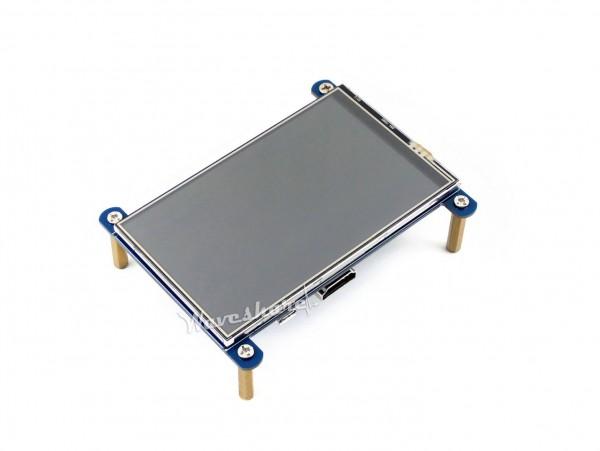 """4,0"""" IPS Display für Raspberry Pi mit resistivem Touchscreen"""
