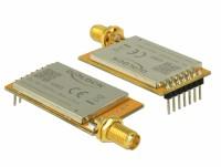 IoT LoRa Funkmodul 868 MHz 30 dBm TTL (3,3 V) Pfostenstecker - SMA Buchse
