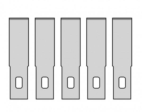 Ersatzklingen Nr.2 für MS01/MS13/MS15, 5 Stück