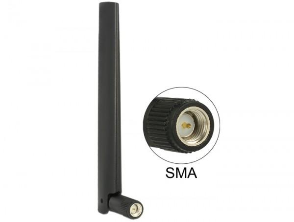 ZigBee Antenne Multi Bluetooth, GSM, LTE, UMTS, WLAN IEEE 802.11 b/g/n SMA 1~4,3 dBi omni Gelenk