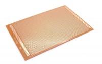 Lochrasterplatine 12x18cm mit einseitiger Kupferauflage