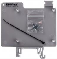 DINrPlate DRP2 - Hutschienenhalter für Raspberry Pi, grau
