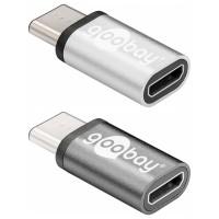 USB-C 3.0 Adapter, Metall, C Stecker – micro B Buchse