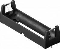 Batteriehalter für 1x 18650 mit Printanschluss