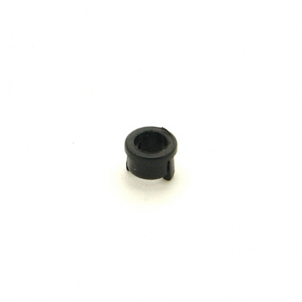 Clip für 3mm LED, einteilig, schwarz