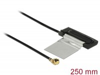 WLAN Antenne MHF /UF.LP-068 kompatibler Stecker 802.11 ac/a/h/b/g/n CCD 1 dBi 250 mm intern