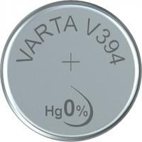 VARTA Silberoxid Uhrenbatterie V394 / SR45