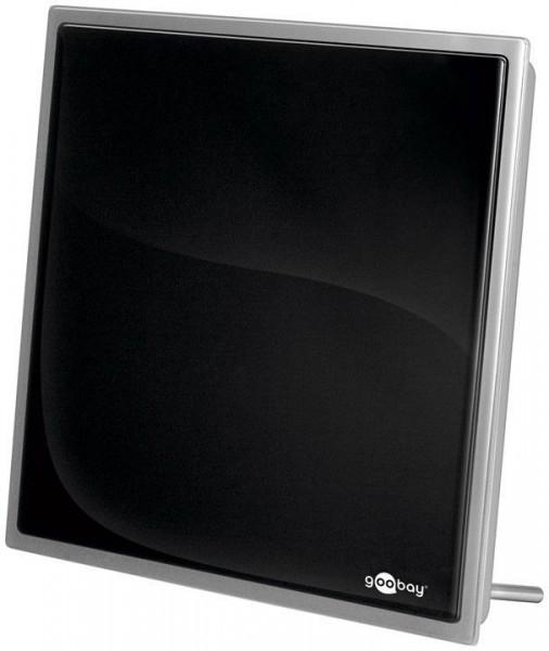 Aktive DVB-T2 Zimmerantenne, inkl. LTE/4G Filter, 30dB, schwarz