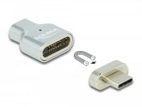 Magnet Adapter, Thunderbolt 3 / USB Type-C, Stecker zu Buchse