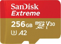 SanDisk Extreme microSDXC A2 UHS-I U3 V30 Speicherkarte + Adapter 256GB