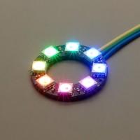 NeoPixel Ring mit 8 WS2812 5050 RGB LEDs