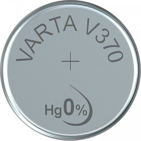 VARTA Silberoxid Uhrenbatterie V370