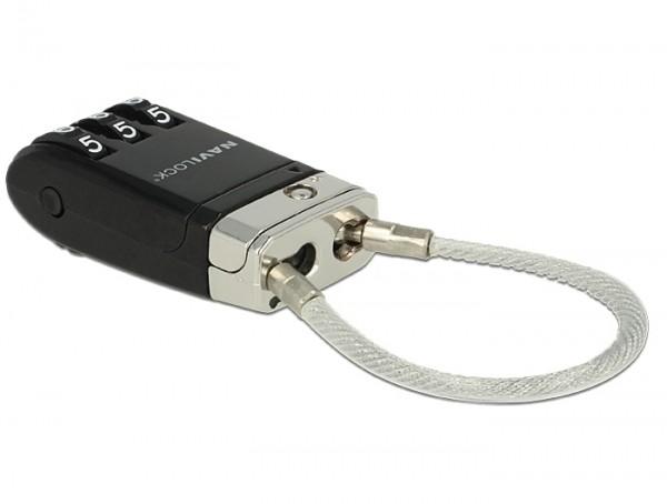 Navilock USB Schloss + Kofferschloss