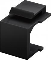 Keystone Abdeckung, schwarz, 4 Stück