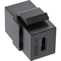 Keystone USB 3.1 C Buchse > USB 3.1 C Buchse schwarz