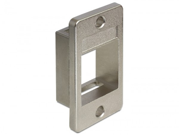 Keystone Halterung für Geräteeinbau