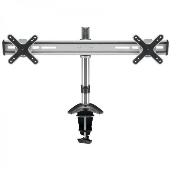 goobay ScreenFlex Twin - Tischhalter für 2 Monitore bis 58 cm (23)