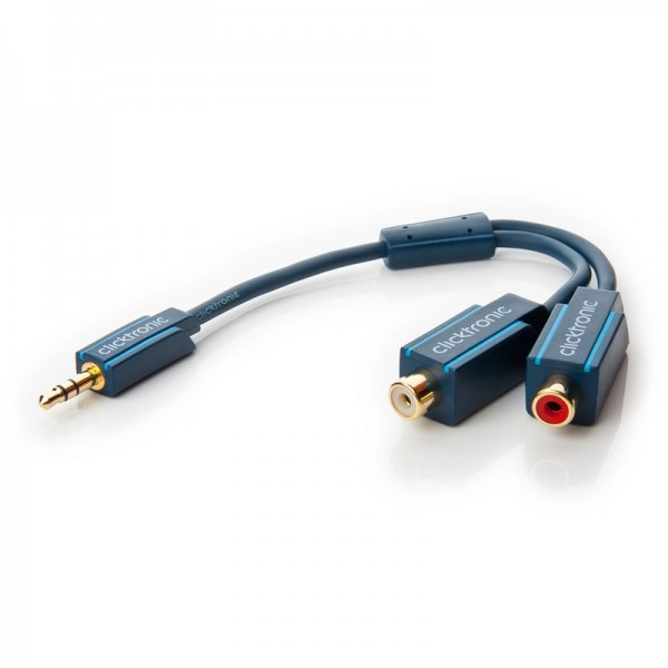 Clicktronic Casual MP3 Y-Adapter